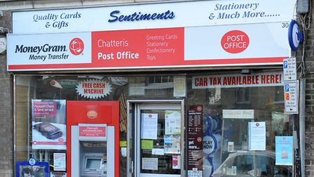 Chatteris Post Office.