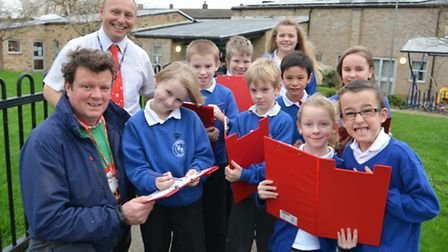 Stretham School have had Solar Panels donated by FC Palmer & Sons, (left) Partner Kier Petherick, He