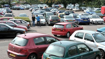 FDC are to start charging for car parks and on street parking. Church Terrace car park.