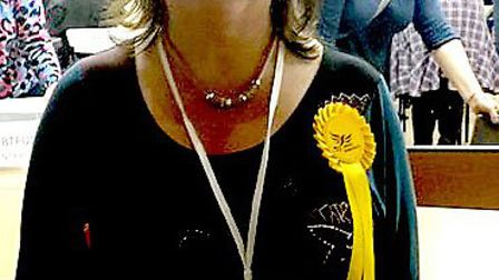 Lorna Helen Dupre of the Lib Dems has been duly elected as the new Cambs county council Sutton Divis