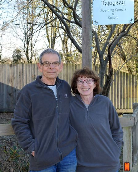 Tejaycey kennels and cattery.Owners Avi and Judy Goldfarb. Picture: Steve Williams.
