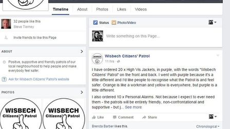 Wisbech Citizens' Patrol Facebook page