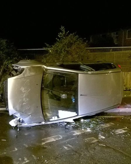 Drink driver arrested in Chatteris following collision