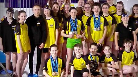 City of Ely Barracudas won an impressive 32 medals at the recent Cambs ASA County Championships.