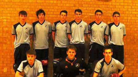 Soham Roller Hockey Club, who are the Eastern Counties Senior Division One League champions.