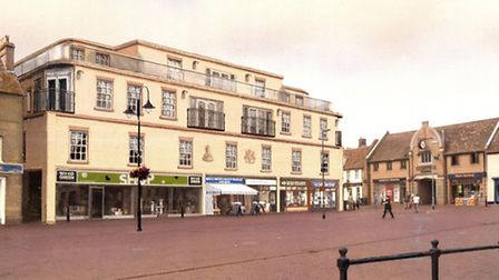 A new proposal for the redevelopment of the 1960's retail building in Ely's Market Place is to be in