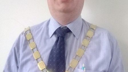 Cllr James Carney the mayor of Chatteris.