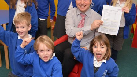 Stretham Community Primary School, have received a good Ofsted Report, Head Teacher Andrew Robertson