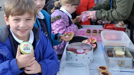 Mepal and Witcham primary school. Friends Committee Cake break. Picture: Steve Williams.