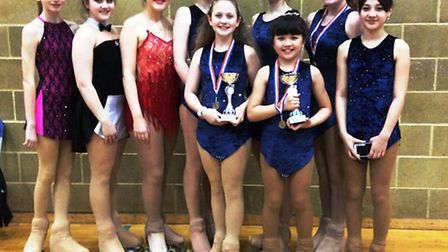 Ely Roller Skating Club, who won three medals at the FARS Spring SOLO Dance in Haywards Heath.