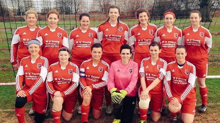 Park Ladies were in fine form in the their clash with Comberton, hitting 11 goals.