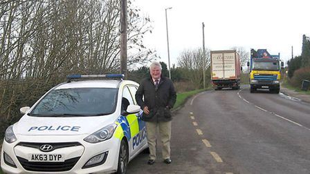 Police - Day of Action. Cllr Bill Hunt.