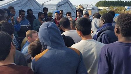 SEPTEMBER: Comet reporter Layth Yousif visited The Jungle in Calais in the wake of the refugee crisi
