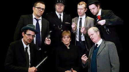 Members of The Ladykillers cast