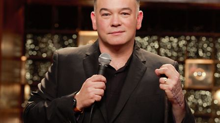 Stewart Lee played Cambridge Corn Exchange as part of his Room With A Stew tour