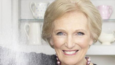 Baking queen Mary Berry is coming to Ely next week!