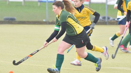 Action from Ely Ladies seconds' 5-0 win over Newmarket thirds.
