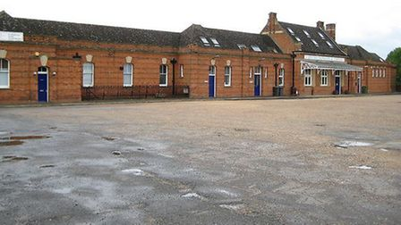 Newmarket rail station has been given a £100,000 make-over