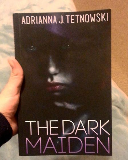Adrianna J. Tetnowski, author of 'The Dark Maiden', the first book in my 'The Tales of Iradas' serie