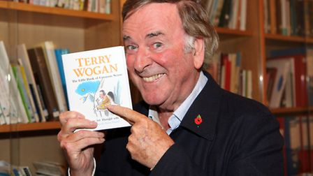 Terry Wogan at St Albans Literary Festival