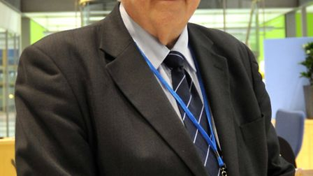 Police and crime commissioner Sir Graham Bright