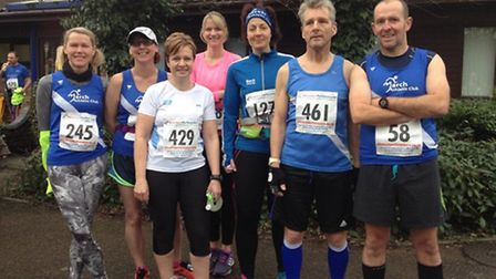 March AC at the Folksworth 15-mile road race.