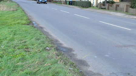 Outwell Road, Emneth, where Mantas died. Picture: Steve Williams.