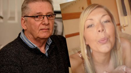 Mike Sams, of March, whose daughter Nikki died of cervical cancer when her GP failed to spot the sig