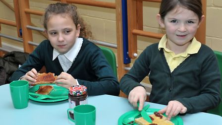 Breakfast Club relaunch at New Road Primary School, Whittlesey. Picture: Steve Williams.