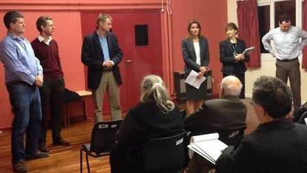 MP Lucy Frazer held a second meeting with residents of areas affected by poor broadband service.