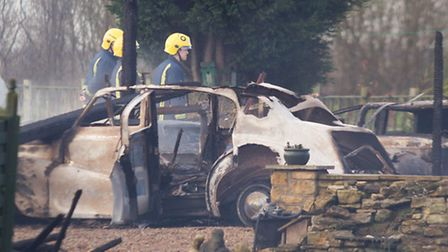 A number of classic cars and a family home were completely destroyed by a fast spreading fire., Thor