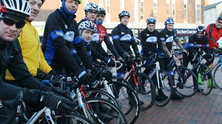 Octagon Cycling to pedal 300 miles for two local charities