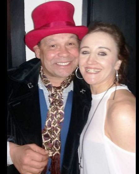 Craig Charles and Kath Sansom after his Funk and Soul Club night at Cambridge Junction