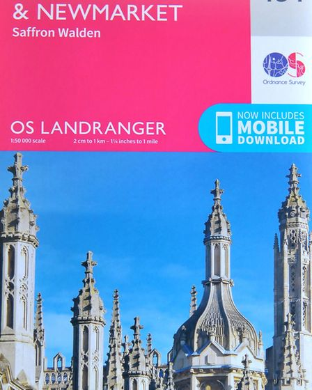 Andrew Sharpe from Ely had seven pictures selected for the front of the new Ordnance Survey Maps. P