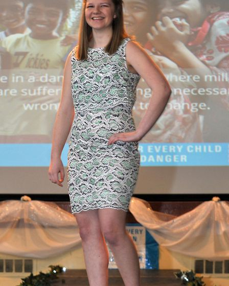 Wisbech Grammar School Sixth Form pupil Maddie Booth, from Wisbech, organised a fashion show to rai