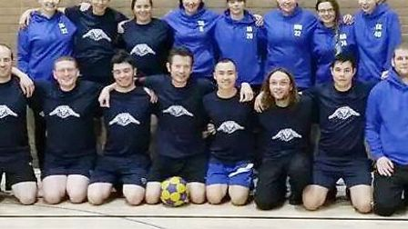 Littleport Lions One beat Ely Vikings Two in an entertaining Cambridgeshire Korfball League Division