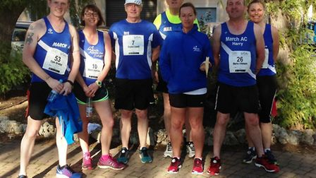 March Athletics Club members ditched the cold UK weather to run 10k in sunny Majorca.