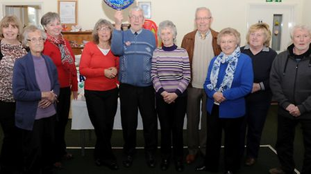 Maurice Short with his family at his 90th birthday party