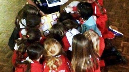 Little Downham Rainbows are to turn off their lights for an hour on March 19 as part of WWF's Earth