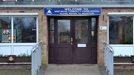 Westwood Junior School was targeted by thieves on Wednesday February 24.