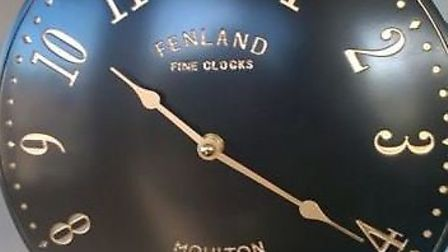 A clock that was stolen along with the summerhouse