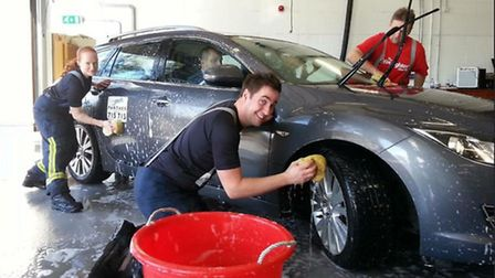 Cambridgeshire Fire and Rescue's annual charity car wash is to return to Cambridge, Whittlesey and H