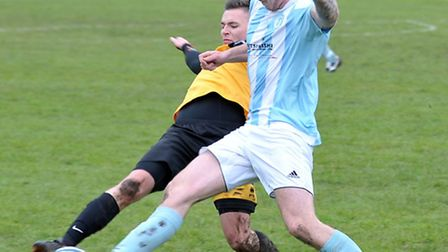 Chatteris Town Reserves v March Town Reserves. Picture: Steve Williams.