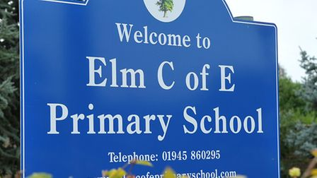 Elm Primary School will have localised speed reductions outside it after Cambridgeshire County Counc