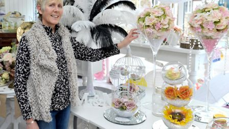 Pippa Glenn at her new shop, A Special Event. Ely, Picture: Steve Williams.