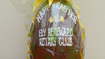 Ely Rotary Club giant Easter egg competition