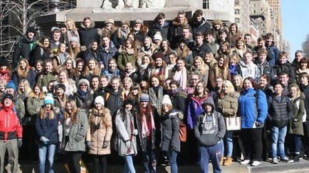 Cromwell College Chatteris. 2016 Trip to New York,