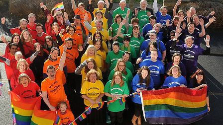 The leaflet ties in with LGBT History Month