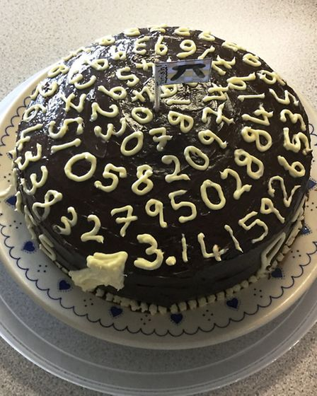 Pi day at King's Ely