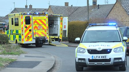 Emergency crews attended an incident on Morton Avenue, March, at around 3.15pm today (March 22). Pic